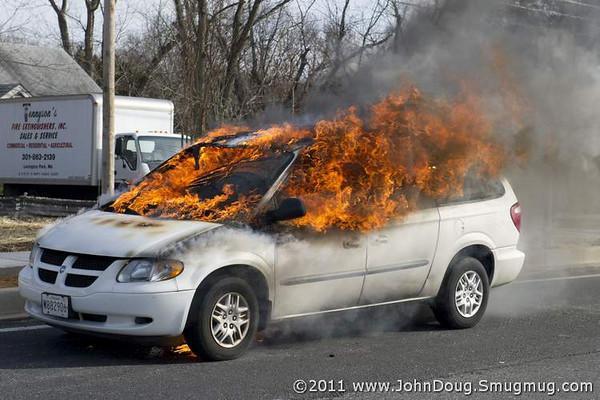 Car Fire On Chancellors Run Bay District Volunteer Fire