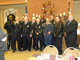These are some old time firefighters from the past. Hope I get all the names. David Carroll, Rick Corcoran, Rusty Tarelton, Keith Fairfax, Les Hansen, Anthony Thomas, Barry Bingman, David Gray, Tommy Blazer, Greg Jones, J.P. Caulder