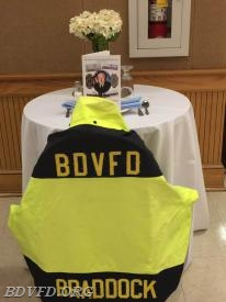 A table for Bob Braddock our departed Friend.