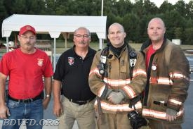 Robbie Springer, Gary Joy, Wayne Johnson jr. and John Thomas , Sacco school instructors.