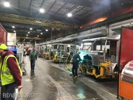 Cabs being manufactured