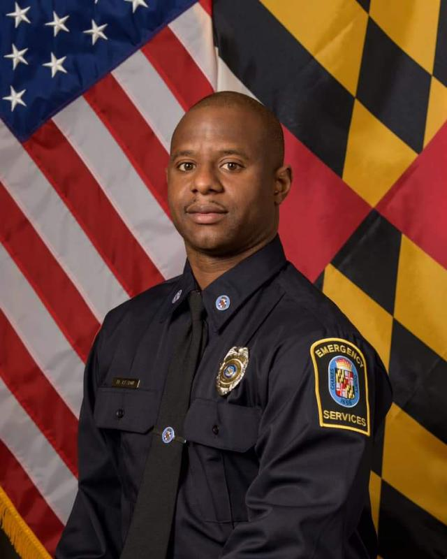 Firefighter Marcus Paxton